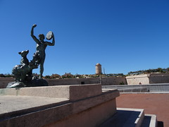 Marseille, esplanade de la Tourette