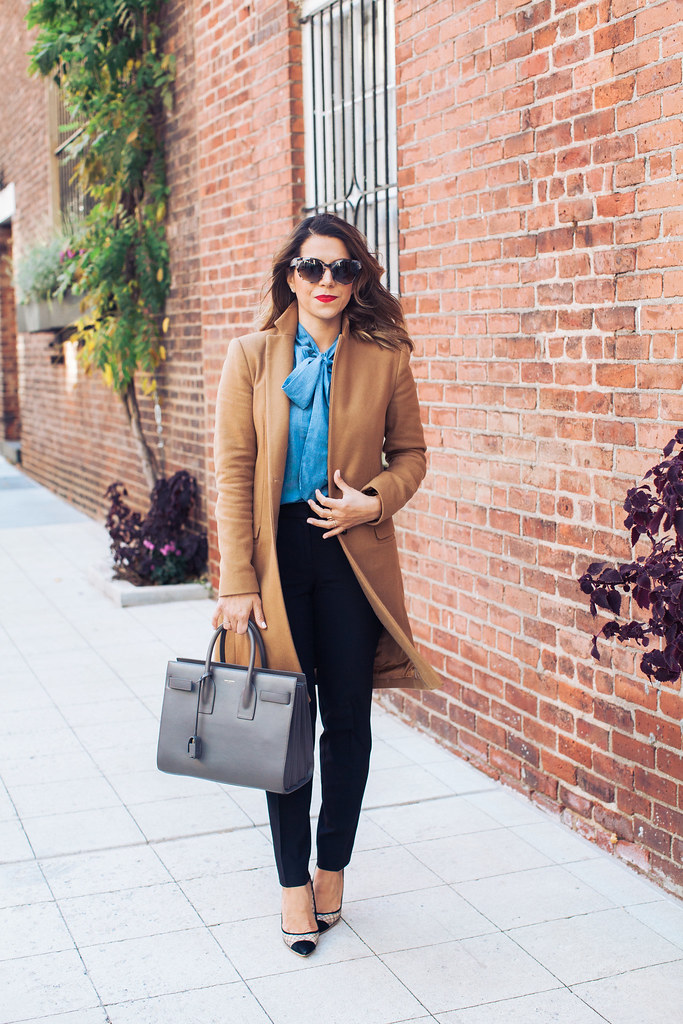 what to wear to work_bow top_1