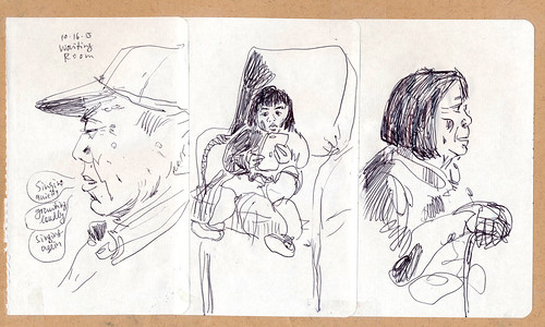 Sketchbook #93: Waiting Room People
