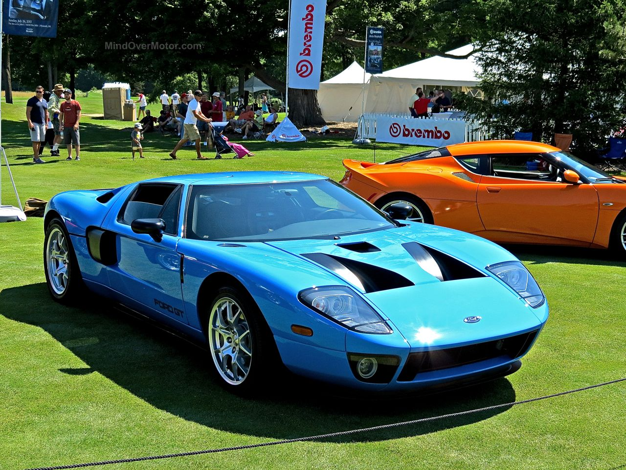 Ford GT Concours of America