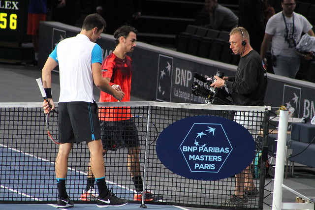 Bernard Tomic and Fabio Fognini