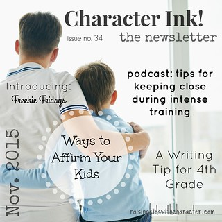 Character Ink Newsletter No. 34