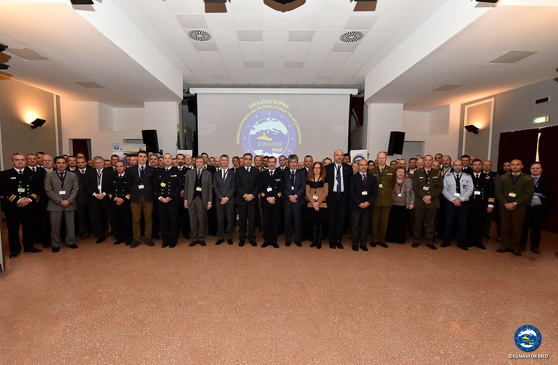 SHADE Med Conference of First Edition – EUNAVFOR MED operation SOPHIA