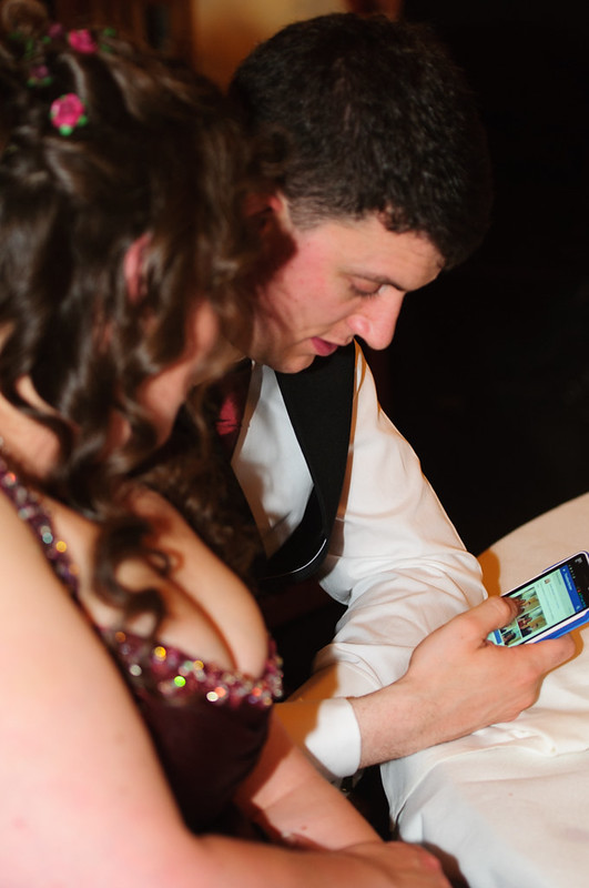 Are smart phones ruining weddings?