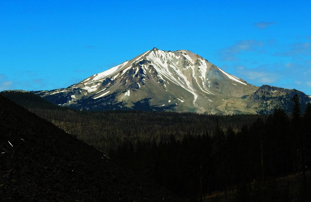 Lassen Peak, Lassen Volcanic National Park, CA, USA