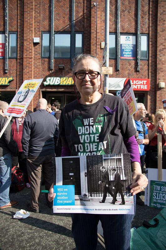Anti Trade Union Bill demonstration