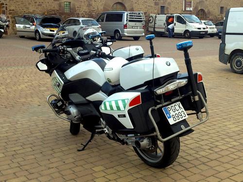 Guardia Civil Tráfico. BMW 1200RT