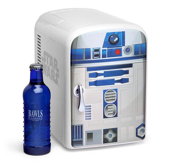ThinkGeek【星際大戰:高智能迷你冰、暖箱】R2-D2 vs. BB-8 到底誰比較冰?