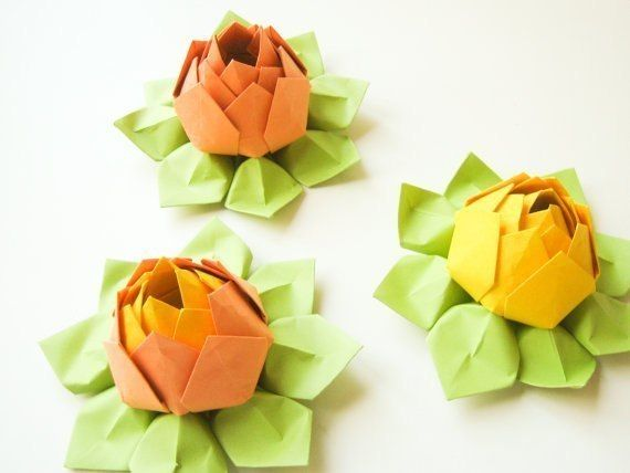 DIY-Origami-Lotus-Flower-5