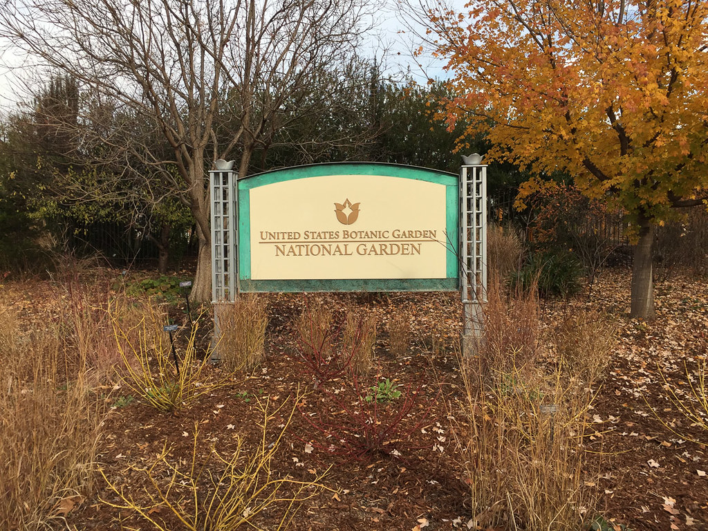 Sign for the U.S. Botanic Garden