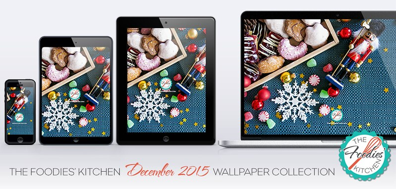 Foodies Freebie: December 2015 Wallpaper Collection