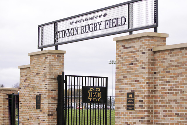 Notre Dame Men's Rugby vs. Missouri - Fall 2014