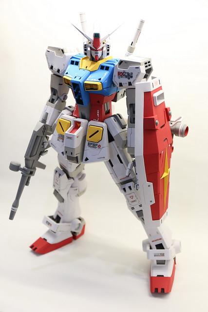 【玩具人沈孟儒投稿】RX-78紙模型製作分享