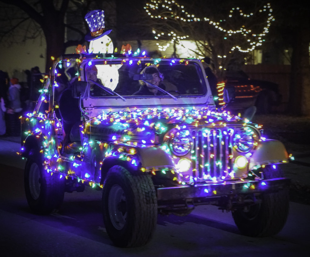 christmas in ida parade jeep 2 - Christmas In Ida