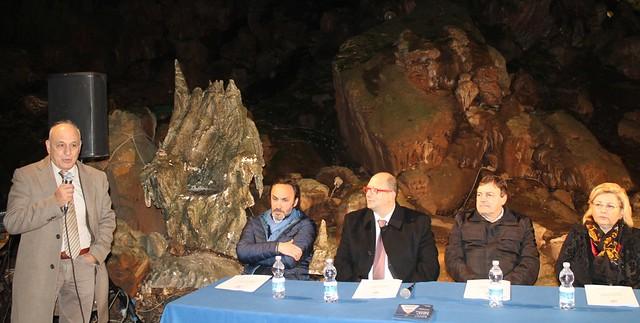 Da sinistra Vito Calogero (Bella Blu), Montaruli, Nicola Netti, Tricase e Gigantesco