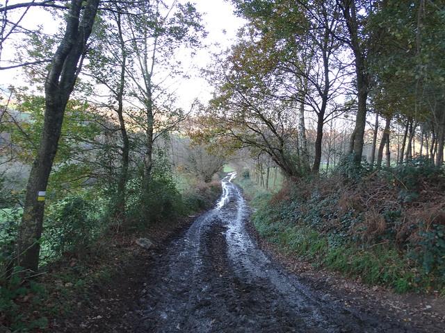 Camino del PR-G 124 Ruta da Auga, Fontes e Lavadoiros de Parada