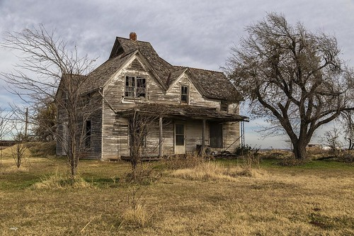trees house abandoned oklahoma wooden neglected