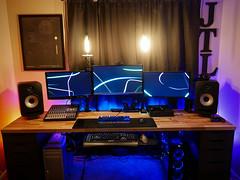 theJTL's Dual Computer Setup Jan. 2017