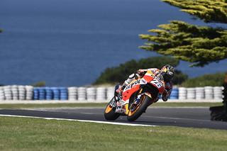 Dani Pedrosa. Test de Australia 2017. MotoGP.