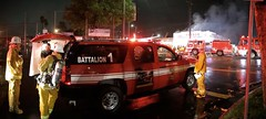 Major Emergency Structure Fire in Chinatown