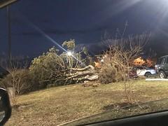 Southern Maryland Storm/EF-1 Tornado Feb 25, 2017 #WeatherWeather #Storm #Tornado EF#EF1 #SoMDwx #SouthernMarylandSouthernMaryland #Wx #FebruaryTornado #Hail