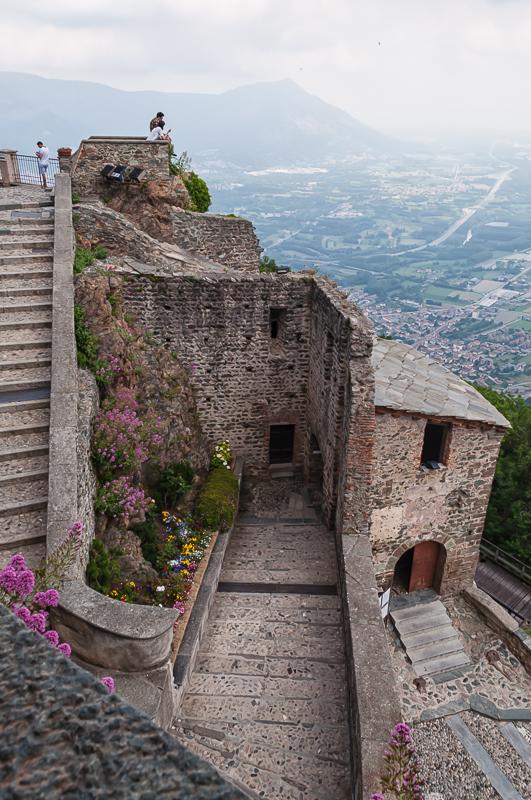 Elevation of Sacra di San Michele, Sant\'Ambrogio di Torino TO, Italy ...