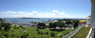 View from Fort Macinac