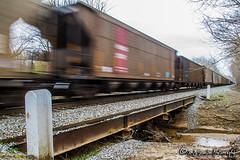 NS 734   Coal Hopper   NS Memphis District