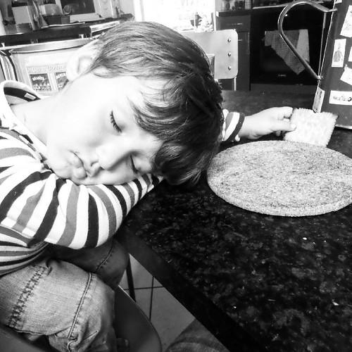 """C'est ce qu'on appelle """"s'endormir sur son goûter """""""