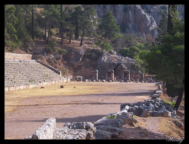 Grecia Delfos Osios Lukas Kalambaka - Estadio de Delfos