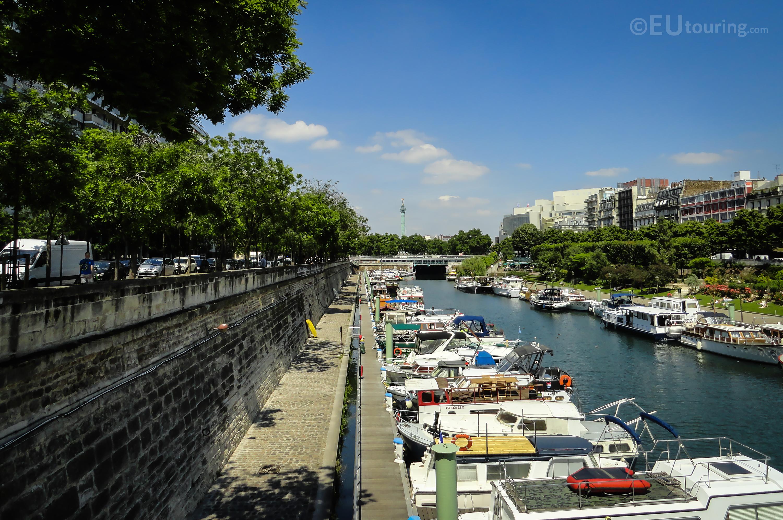 Port de l'Arsenal view