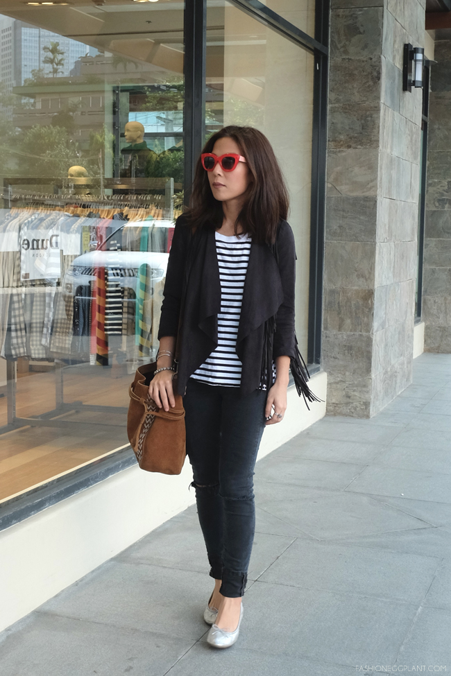 RED SUNGLASSES STREET STYLE