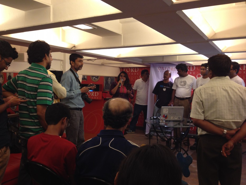 Wikipedia Kolkata Chapter Event Wikilearnopedia 2015 at Oxford Bookstore Kolkata, India