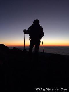 Subiendo al Pico del Teide 3718m... #sombradelteide #tenerife #muchavidateam #islascanarias