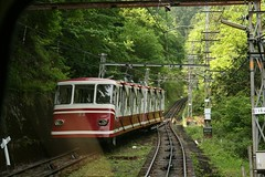 funicular, vehicle, train, transport, rail transport, public transport, rolling stock, track, land vehicle, railroad car,