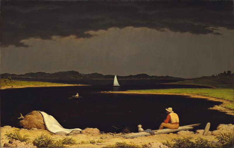 Martin Johnson Heade - Approaching Thunder Storm [1859]