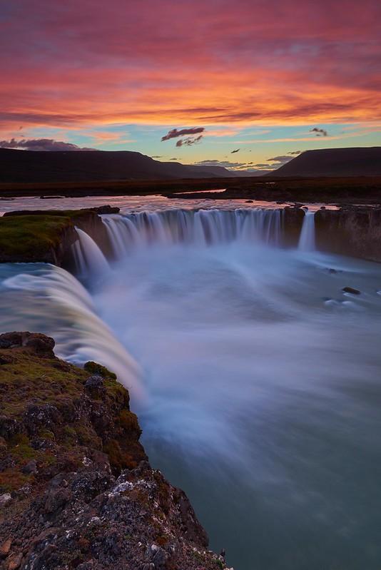 Dusk - Goðafoss