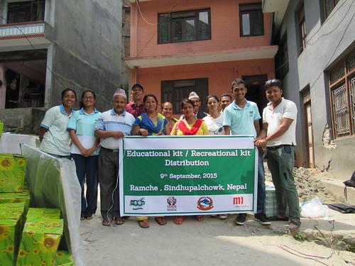 teachers and ECCA volunteers