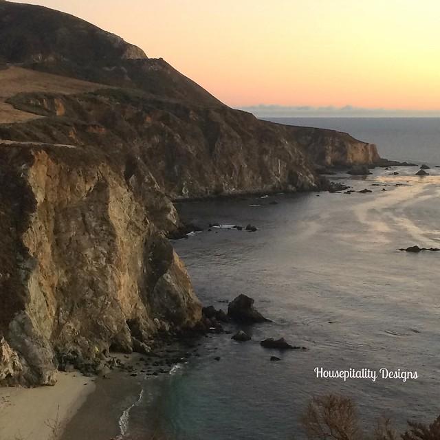 Big Sur at Sunset - Housepitality Designs