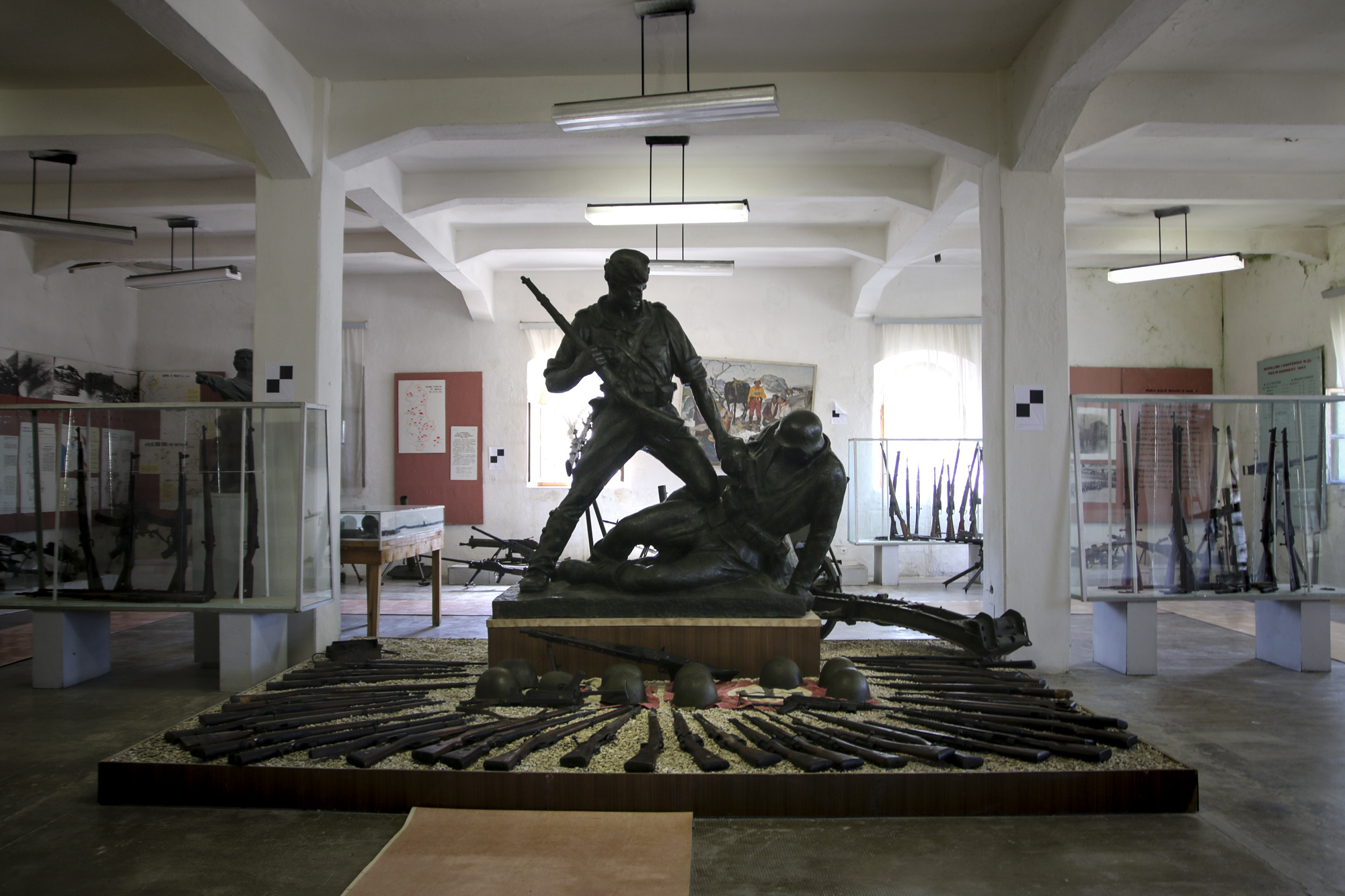 gjirokastra weapons museum, gjirokastra castle, the National Museum of Armaments