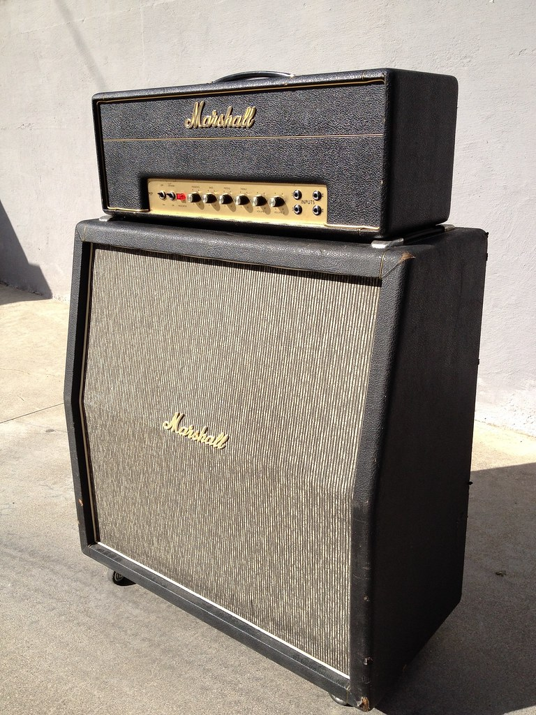 Real Vintage Marshall amps  Please post here without fear