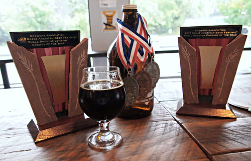 Port City is the American Small Brewery of the Year, 2015.