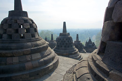Borobudur in morning light - Central Java, Indonesia