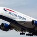 BA A380 Departure