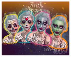 { JACK SPOON} Creepy Mask