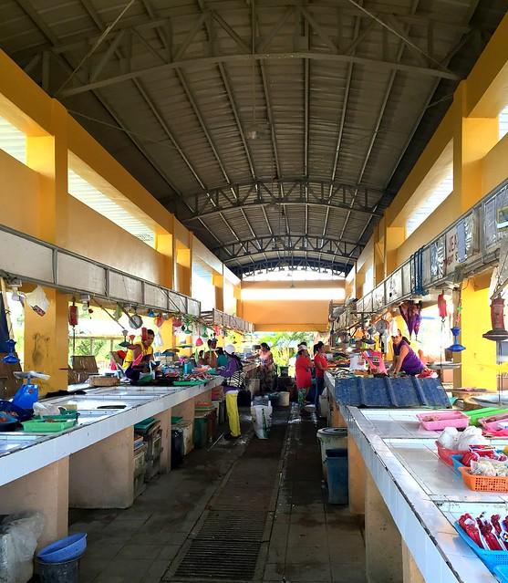 The newly-rehabilitated San Isidro Public Market - June 2015.