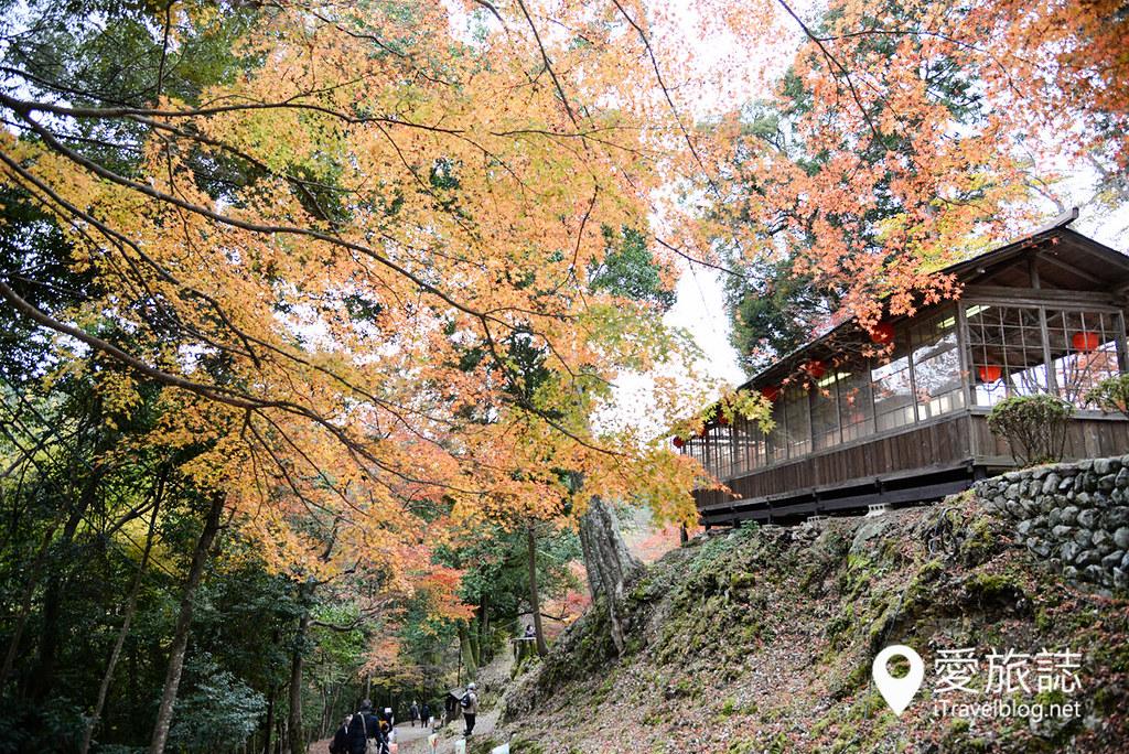京都赏枫景点 神护寺 砚石亭 01