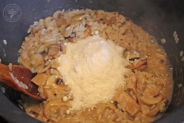 Risotto de champiñones www.cocinandoentreolivos.com (12)