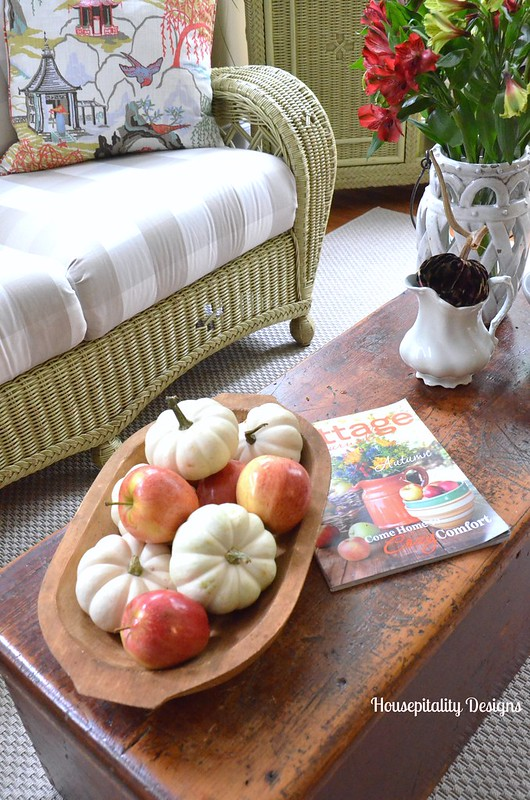 Sunroom for Fall - Housepitality Designs