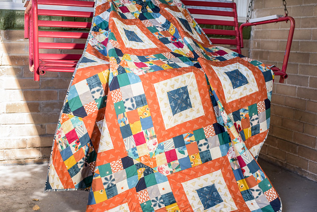 Craftsy Class Criss Cross Diamond Quilt